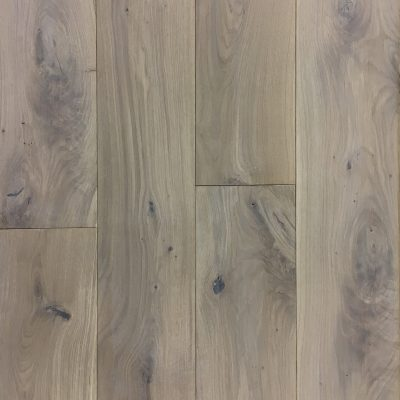 Roble sanded white